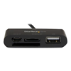 lettore memory card Startech - Lettore multischede micro