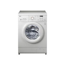 Lave-linge LG FH0C3LD - Machine à laver - pose libre - largeur : 60 cm - profondeur : 44 cm - hauteur : 85 cm - chargement frontal - 5 kg - 1000 tours/min - blanc