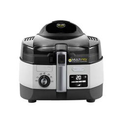 Robot de cuisine De'Longhi MultiFry EXTRA CHEF FH1394 - Friteuse - 1400 Watt - blanc/noir