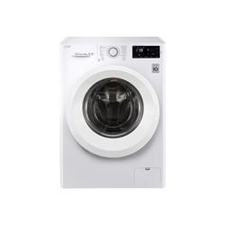 Lave-linge LG FH4U2VFN3 - Machine à laver - pose libre - largeur : 60 cm - profondeur : 58 cm - hauteur : 85 cm - chargement frontal - 59 litres - 9 k