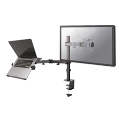 Full motion and desk mount (clamp) for 10-27''