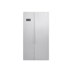 Réfrigérateur Beko GN163120S - Réfrigérateur/congélateur - pose libre - largeur : 91 cm - profondeur : 72 cm - hauteur : 182 cm - 558 litres - côte-à-