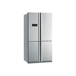 Réfrigérateur Beko GNE 114612 X - Réfrigérateur/congélateur - pose libre - largeur : 92 cm - profondeur : 72 cm - hauteur : 182 cm - 540 litres - congélateur bas - classe A+ - inox