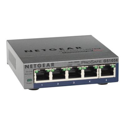 Switch Netgear - SW 5P 10/100/1000 MBPS METAL CASE