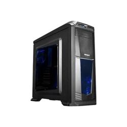 Boîtier PC Antec GX Series GX330 - Tour midi - ATX - pas d'alimentation - noir - USB/Audio