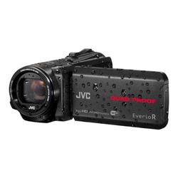 Caméscope JVC EverioR GZ-RX640BEU - Caméscope - 1080p / 50 pi/s - 2.5 MP - 40x zoom optique - Konica Minolta - flash 8 - carte Flash - Wi-Fi - sous-marin jusqu'à 5 m - noir
