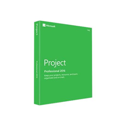 Software Microsoft - Project pro 2016 win en