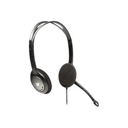 Cuffie con microfono V7 - V7 cuffie standard black/silver
