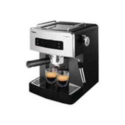 """Expresso et cafetière Saeco Estrosa HD8525 - Machine à café avec buse vapeur """"Cappuccino"""" - 15 bar - noir/chrome"""