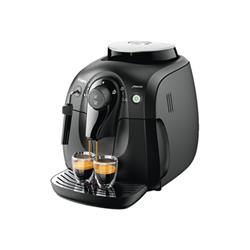 """Expresso et cafetière Saeco Xsmall HD8645 - Machine à café automatique avec buse vapeur """"Cappuccino"""" - 15 bar - noir"""