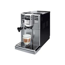 """Expresso et cafetière Saeco Incanto HD8914 - Machine à café automatique avec buse vapeur """"Cappuccino"""" - 15 bar - inox/noir"""