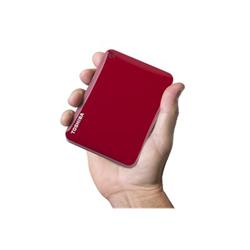 Foto Hard disk esterno Canvio connect ii red Toshiba