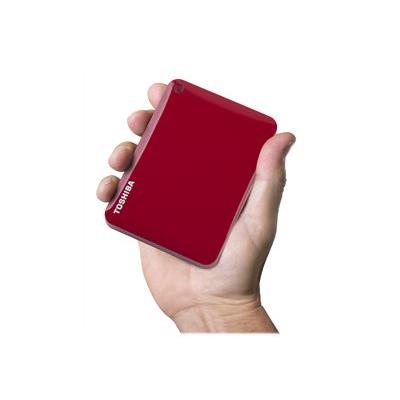 Toshiba - CANVIO CONNECT II RED