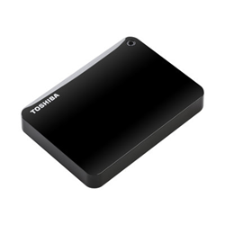 Hard disk esterno Toshiba - Canvio connect ii black