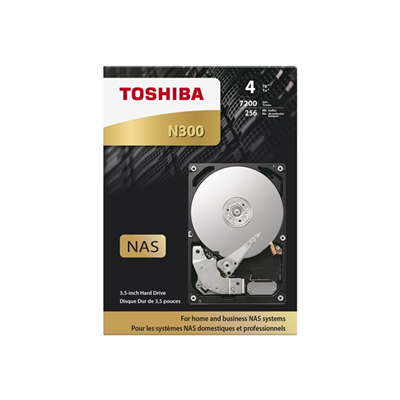 Toshiba - N300 NAS HIGH RELIABILITY 4TB