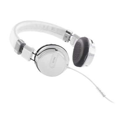 WHITE HEADPHONE HIPHOP