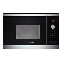 Micro ondes Bosch HMT75M654 - Four micro-ondes monofonction - int�grable - 20 litres - 800 Watt - inox