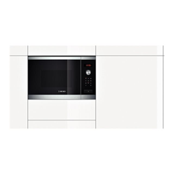 Micro ondes Bosch HMT84M654 - Four micro-ondes monofonction - int�grable - 25 litres - 900 Watt - inox