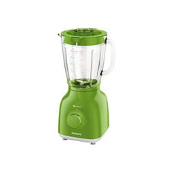 Mixeur Philips Daily Collection HR2105 - Bol mixeur blender - 1.5 litres - 400 Watt - vert pelouse