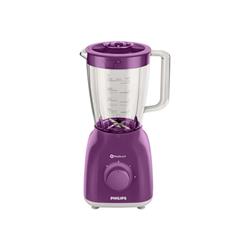 Mixeur Philips Daily Collection HR2105 - Bol mixeur blender - 1.5 litres - 400 Watt - violet