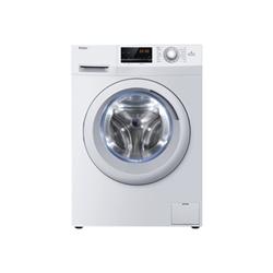 Lave-linge Haier HW80-14636 - Machine � laver - pose libre - largeur : 59.5 cm - profondeur : 60 cm - hauteur : 84.5 cm - chargement frontal - 55 litres - 8 kg - 1400 tours/min - blanc