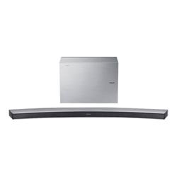 Soundbar Samsung HW-J6001R - Système de barre audio - pour home cinéma - Canal 2.1 - sans fil - 300 Watt (Totale) - argenté(e)