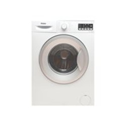 Lave-linge Haier HWS60-10F2S - Machine à laver - pose libre - largeur : 59.7 cm - profondeur : 41.6 cm - hauteur : 84.5 cm - chargement frontal - 41 litres - 6 kg - 1000 tours/min - blanc