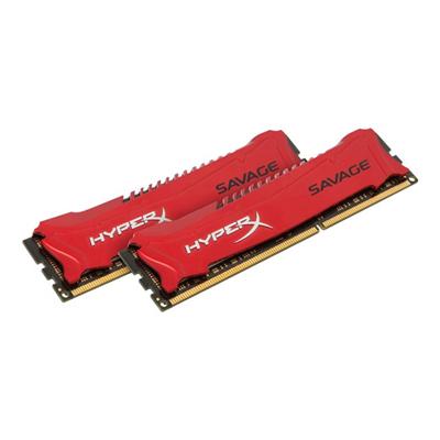 HyperX - 8GB 2400MHZ DDR3 HYPERX SAVAGE KIT
