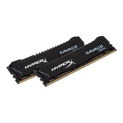 HyperX - 8GB 2666MHZ DDR4 CL13 SAVAGE BLACK