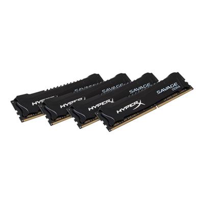 HyperX - 16GB 2666MHZ DDR4 SAVAGE BLACK