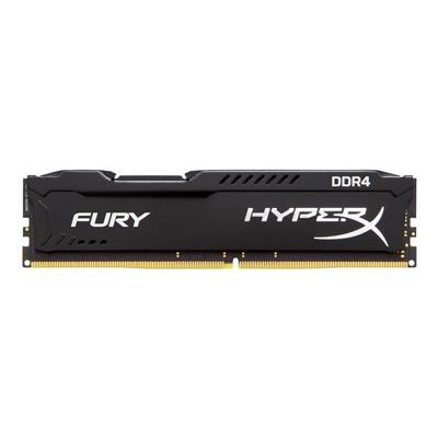 HyperX - 8GB 2666MHZ DDR4 HYPERX FURY BLACK