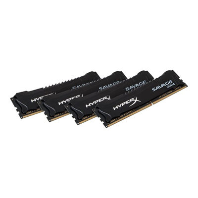 HyperX - 32GB 2800MHZ DDR4 SAVAGE BLACK