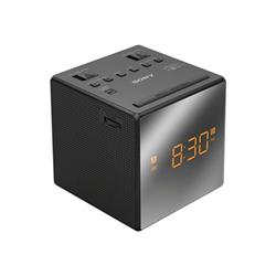 Radio Sony ICF-C1T - Radio-réveil - 100 mW - noir