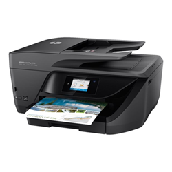 Imprimante  jet d'encre multifonction HP Officejet Pro 6970 All-in-One - Imprimante multifonctions - couleur - jet d'encre - 212 x 356 mm (original) - A4/Legal (support) - jusqu'à 30 ppm (copie) - jusqu'à 30 ppm (impression) - 225 feuilles - 33.6 Kbits/s - USB 2.0, LAN, Wi-Fi(n), hôte USB