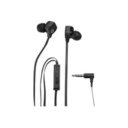 HP H2310 - Casque - intra-auriculaire - noir étincelant - pour HP 8 G2; Pavilion; Pavilion Gaming; Pavilion x360; Slate 10, 8; Spectre x360; x360