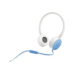 HP H2800 - Casque avec micro - pleine taille - jack 3,5mm - Bleu océan - pour Envy 17-k170no; Spectre x360; Stream; x360