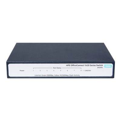Switch Hewlett Packard Enterprise - HPE 1420 8G 10/100/1000 SWITCH