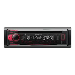Autoradio Kenwood KDC-BT510U - Automobile - récepteur CD - intégrée dans le tableau de bord - Full-Din - 50 Watts x 4