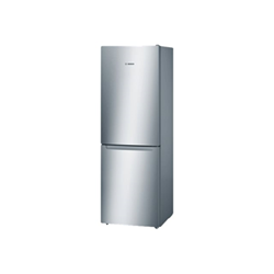 Réfrigérateur Bosch Serie 2 KGN33NL20 - Réfrigérateur/congélateur - pose libre - largeur : 60 cm - profondeur : 66 cm - hauteur : 176 cm - 279 litres - congélateur bas - classe A+ - inoxLook