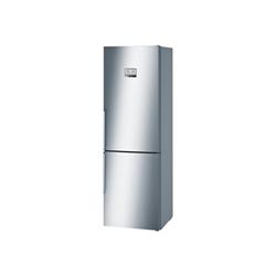 Réfrigérateur Bosch Serie 6 KGN36AI45 - Réfrigérateur/congélateur - pose libre - largeur : 60 cm - profondeur : 66 cm - hauteur : 186 cm - 324 litres - congélateur bas - Classe A+++ - inox