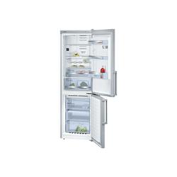 Réfrigérateur Bosch Serie 6 KGN36HI32 - Réfrigérateur/congélateur - pose libre - largeur : 60 cm - profondeur : 65 cm - hauteur : 187 cm - 320 litres - congélateur bas - Classe A++ - inox chromé métallique/inox