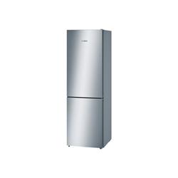 Réfrigérateur Bosch Serie 4 KGN36VL35 - Réfrigérateur/congélateur - pose libre - largeur : 60 cm - profondeur : 66 cm - hauteur : 186 cm - 324 litres - congélateur bas - Classe A++ - inox