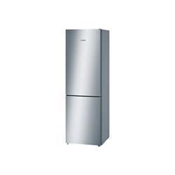 R�frig�rateur Bosch Serie 4 KGN36VL45 - R�frig�rateur/cong�lateur - pose libre - largeur : 60 cm - profondeur : 66 cm - hauteur : 186 cm - 324 litres - cong�lateur bas - Classe A+++ - inoxLook