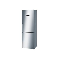 Réfrigérateur Bosch Serie 4 KGN36XL35 - Réfrigérateur/congélateur - pose libre - largeur : 60 cm - profondeur : 66 cm - hauteur : 186 cm - 324 litres - congélateur bas - Classe A++ - inoxLook