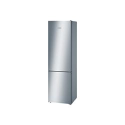 Réfrigérateur Bosch Serie 4 KGN39VL45 - Réfrigérateur/congélateur - pose libre - largeur : 60 cm - profondeur : 66 cm - hauteur : 203 cm - 366 litres - congélateur bas - Classe A+++ - inoxLook