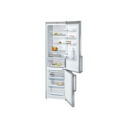 Réfrigérateur Bosch Serie 4 KGN39XL35 - Réfrigérateur/congélateur - pose libre - largeur : 60 cm - profondeur : 66 cm - hauteur : 203 cm - 366 litres - congélateur bas - Classe A++ - inoxLook