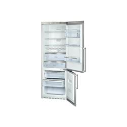 Réfrigérateur Bosch KGN49AI32 - Réfrigérateur/congélateur - pose libre - largeur : 70 cm - profondeur : 62 cm - hauteur : 200 cm - 395 litres - congélateur bas - Classe A++ - inox