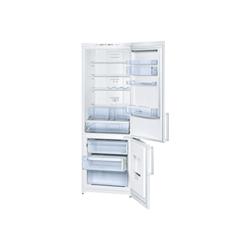 Réfrigérateur Bosch Serie 4 KGN49VW20 - Réfrigérateur/congélateur - pose libre - largeur : 70 cm - profondeur : 62 cm - hauteur : 200 cm - 399 litres - congélateur bas - classe A+ - blanc