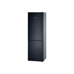 Réfrigérateur Bosch KGV36VB32S - Réfrigérateur/congélateur - pose libre - largeur : 60 cm - profondeur : 65 cm - hauteur : 186 cm - 309 litres - congélateur bas - Classe A++ - noir piano