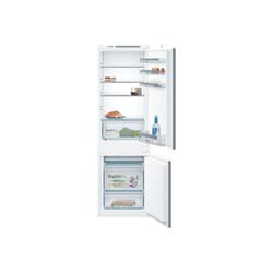 Réfrigérateur encastrable Bosch Serie 4 KIV86VS30S - Réfrigérateur/congélateur - intégrable - niche - largeur : 56 cm - profondeur : 55 cm - hauteur : 178 cm - 267 litres - congélateur bas - Classe A++